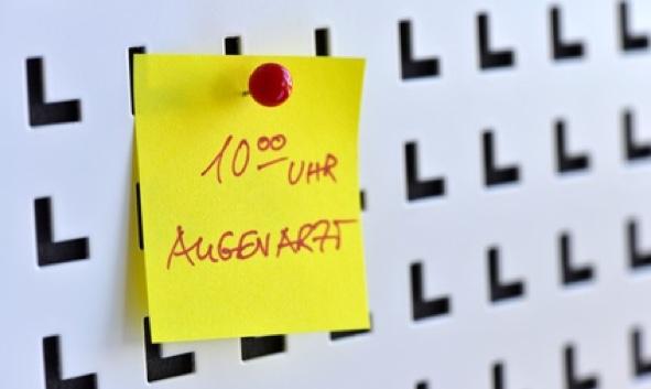 Augenarzt im Raum Rhein-Neckar.