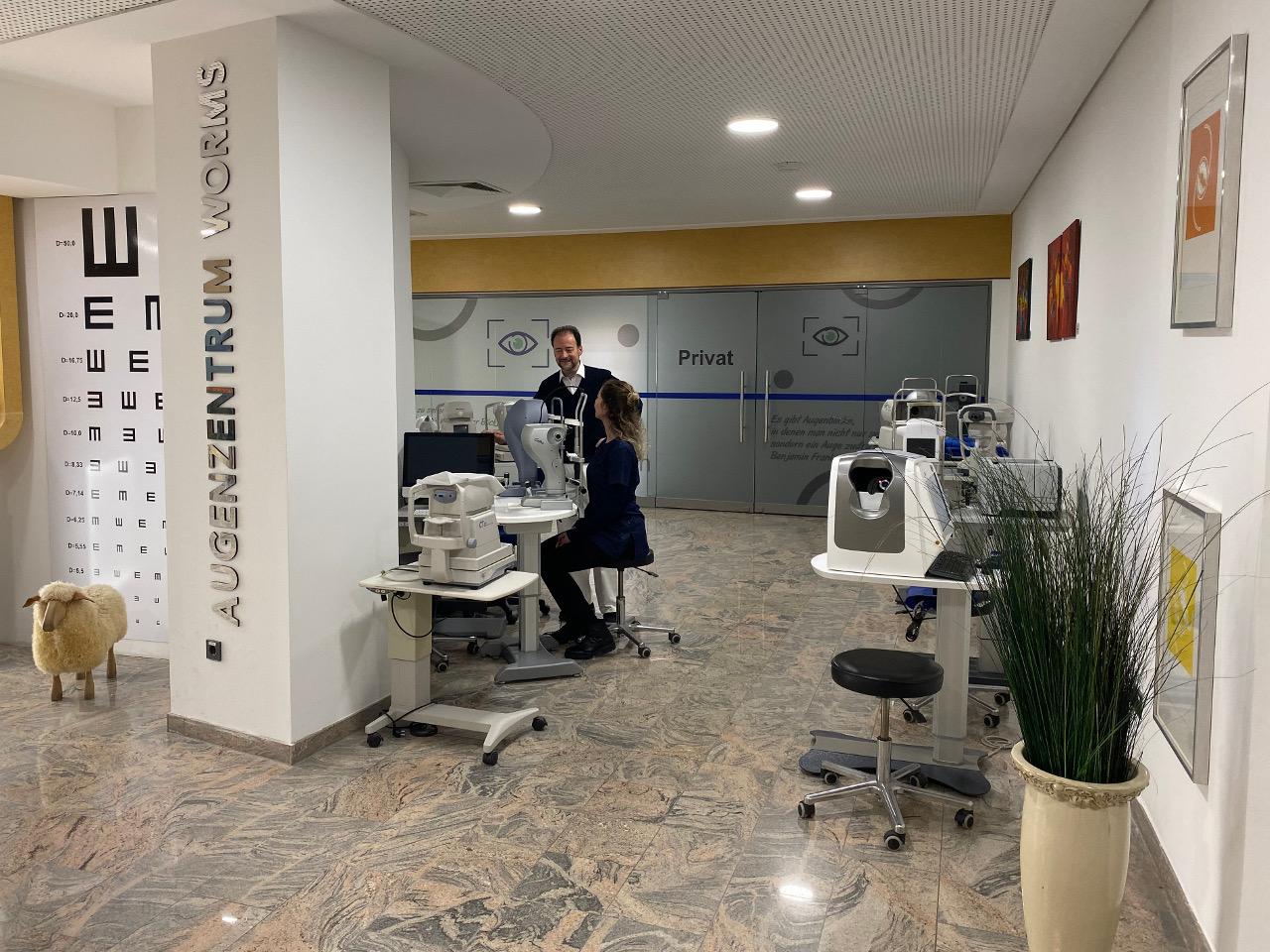 Praxis Dr. Hierschbiel Geräte